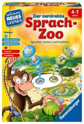 Der verdrehte Sprach-Zoo (Kinderspiel)