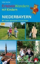 Erlebniswandern mit Kindern Niederbayern Cover