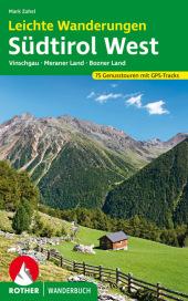 Rother Wanderbuch Leichte Wanderungen Südtirol West Cover