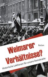 Weimarer Verhältnisse? Cover