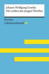 Johann Wolfgang Goethe: Die Leiden des jungen Werther Cover