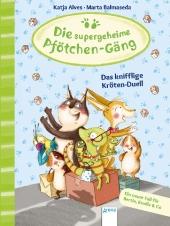 Die supergeheime Pfötchen-Gäng - Das knifflige Kröten-Duell Cover