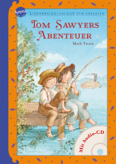 Tom Sawyers Abenteuer, m. Audio-CD Cover
