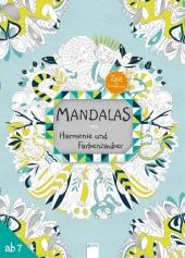 Zeit zum Entspannen: Mandalas Harmonie und Farbenzauber