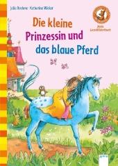 Die kleine Prinzessin und das blaue Pferd Cover
