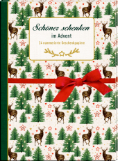 Geschenkpapier-Buch - Schöner schenken im Advent