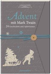 Advent mit Mark Twain - Briefbuch