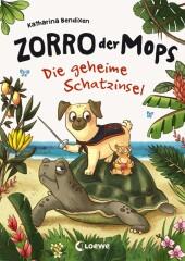 Zorro, der Mops - Die geheime Schatzinsel Cover