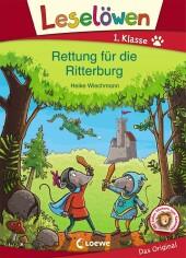 Leselöwen 1. Klasse - Rettung für die Ritterburg Cover