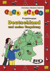 Kita aktiv Projektmappe Deutschland und meine Umgebung Cover