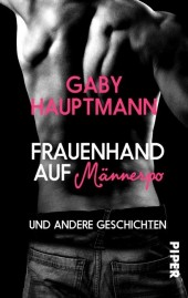 Frauenhand auf Männerpo