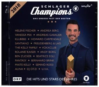 Schlager Champions 2018 Das Große Fest Der Besten 2 Audio Cds