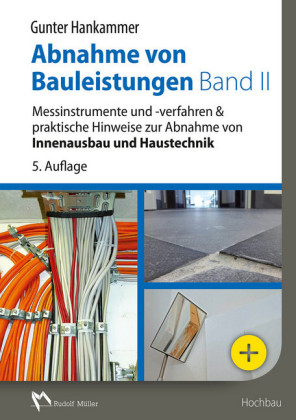 Abnahme von Bauleistungen Band II - E-Book (PDF)