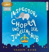 Inspector Chopra und der Juwelenraub, 1 MP3-CD Cover
