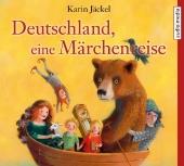 Deutschland, eine Märchenreise, 3 Audio-CDs Cover