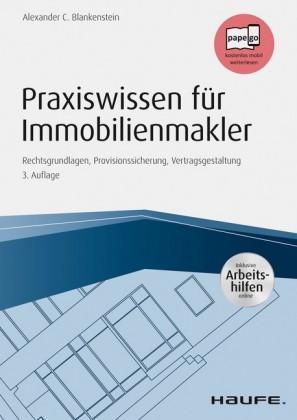 Praxiswissen für Immobilienmakler - inkl. Arbeitshilfen online