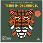 Geheimnisvolle Sticker-Welt: Tiere im Dschungel