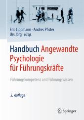 Handbuch Angewandte Psychologie für Führungskräfte, 2 Bde. Cover