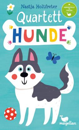 Quartett - Hunde (Kinderspiel)