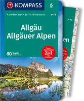KOMPASS Wanderführer Allgäu, Allgäuer Alpen, m. 1 Karte Cover