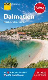 ADAC Reiseführer Dalmatien Cover