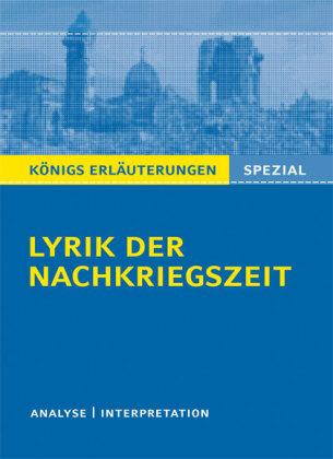 Lyrik der Nachkriegszeit (1945-60)