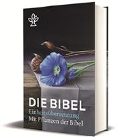 Die Bibel, Einheitsübersetzung, mit Bildern von Pflanzen der Bibel Cover