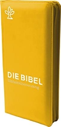 Die Bibel. revidierte Einheitsübersetzung, Taschenausgabe curry mit Reißverschluss