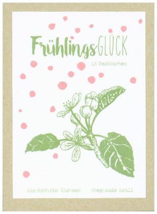 FrühlingsGlück - Postkartenbox