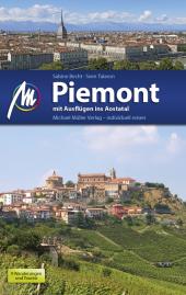 Piemont mit Ausflügen ins Aostatal Reiseführer Cover