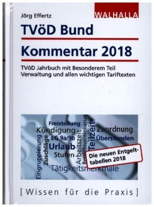 Tvöd Bund Kommentar 2018 Jörg Effertz 9783802979279 Bücher
