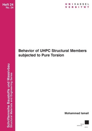 Behavior of UHPC Structural Members subjected to Pure Torsion