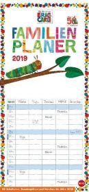 Die kleine Raupe Nimmersatt Familienplaner 2019