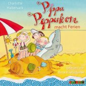 Pippa Pepperkorn macht Ferien, 1 Audio-CD Cover
