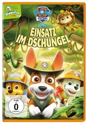 Paw Patrol: Einsatz im Dschungel, 1 DVD