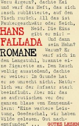 Hans Fallada - Romane