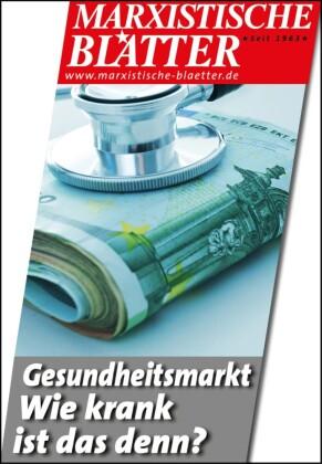 Gesundheitsmarkt - Wie krank ist das denn?