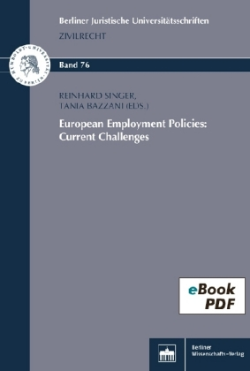 European Employment Policies: Current Challenges