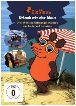 Die Sendung mit der Maus - Urlaub mit der Maus, 1 DVD