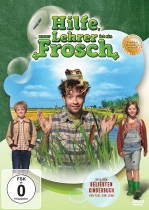 Hilfe, unser Lehrer ist ein Frosch, 1 DVD