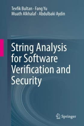 String Analysis for Software Verification and Security