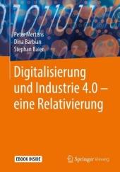 Digitalisierung und Industrie 4.0 - eine Relativierung