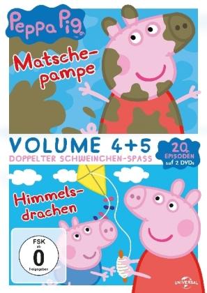 Peppa Pig - Matschepampe & Himmelsdrachen, 2 DVD