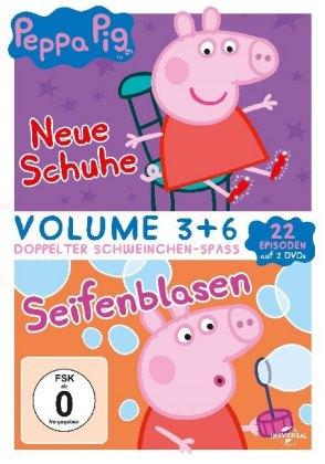 Peppa Pig - Neue Schuhe & Seifenblasen, 2 DVD