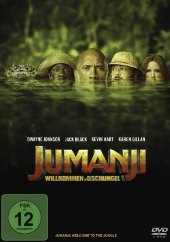 Jumanji: Willkommen im Dschungel, 1 DVD Cover