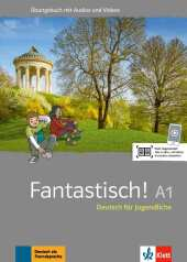 Fantastisch A1 - Übungsbuch plus Audio und Videos Cover