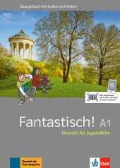 Fantastisch A1 - Übungsbuch plus Audio und Videos Cover