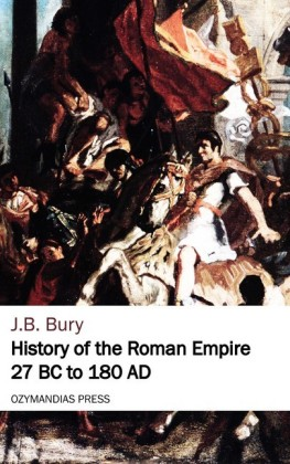 History of the Roman Empire 27 BC to 180 AD