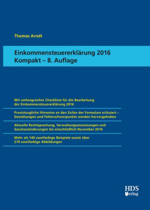 Einkommensteuererklärung 2016 Kompakt