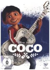 Coco - Lebendiger als der Leben!, 1 DVD Cover